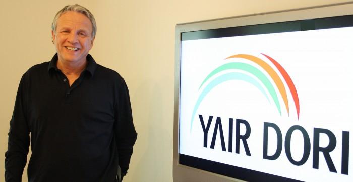 Con el productor televisivo Yair Dori