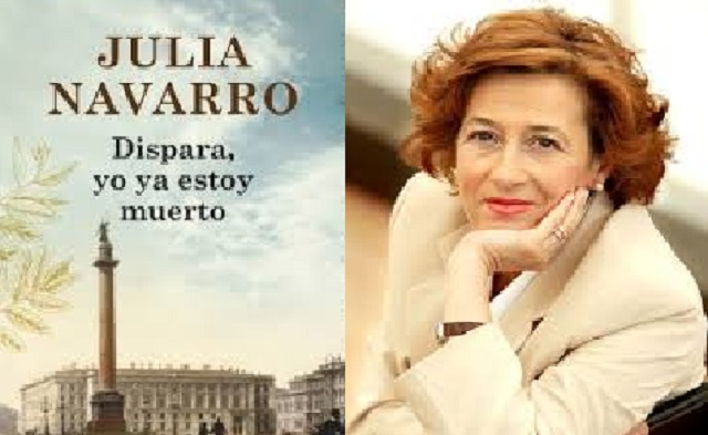 """Julia Navarro presenta su libro """"Dispara, yo ya estoy muerto"""" (CEMI, Madrid, 13/5/2014)"""