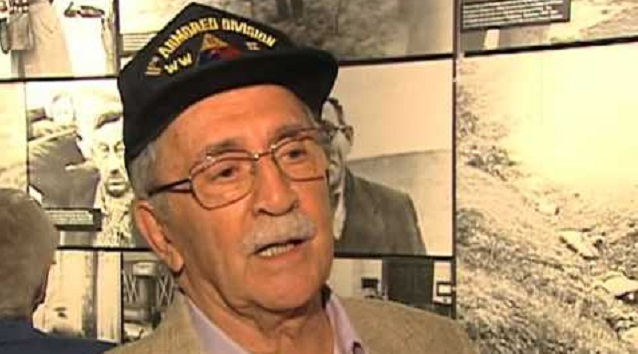 """George Sherman: """"We discovered Mauthausen"""""""