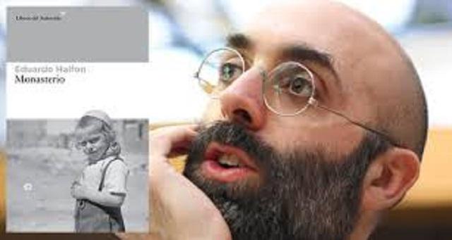 """""""Monasterio"""", con su autor Eduardo Halfon"""