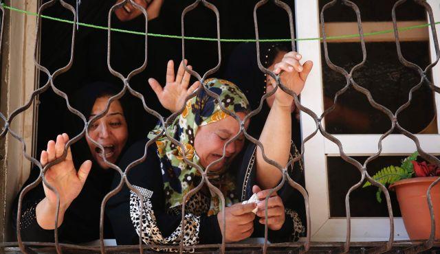 Refugiados dentro de Gaza, hartos de Hamás