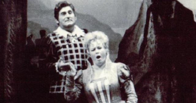 "Richard Tucker en ""Lucia de Lamermoor"" de Donizetti"