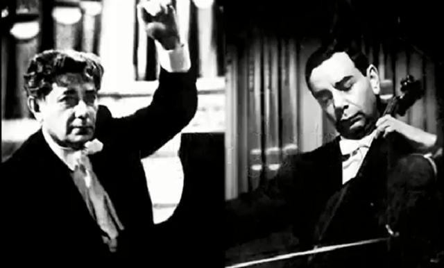 Slobodkin y Ginzburg con la Sonata de Grieg