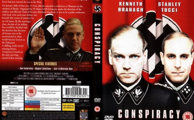 """""""La Solución Final (Conspiracy)"""" (2001), de Frank Pierson (EE.UU. – Reino Unido)"""