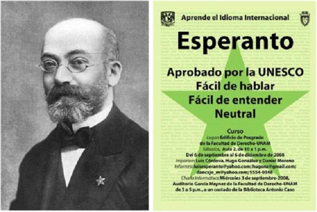 155 shana lehuledet Ludwik Lazar Zamenhof, mamtzí ha-Esperanto