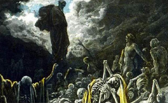 Ezequiel cap.37: la profecía de los huesos secos