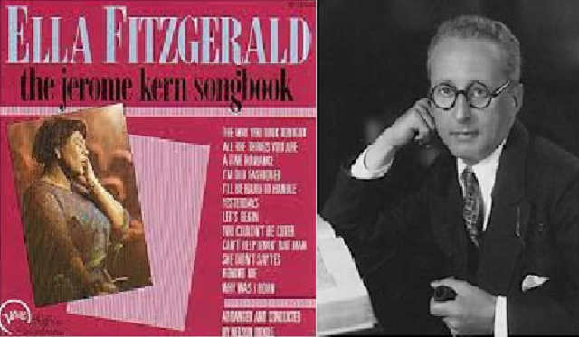 Jerome Kern (I): sus canciones en la voz de Ella Fitzgerald