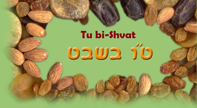 Piyutím (cantos devocionales) para Tu bi-Shvat