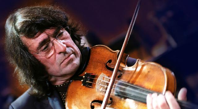 Yuri Bashmet junto a Vengerov en la Sinfonía Concertante de Mozart
