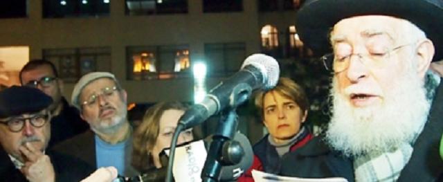 Musulmanes en el acto en Ceuta por el Holocausto, con Rebeca Benarroch