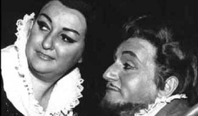 Arias y escenas de Montserrat Caballé y Richard Tucker