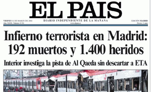 A 11 años de los atentados del 11-M