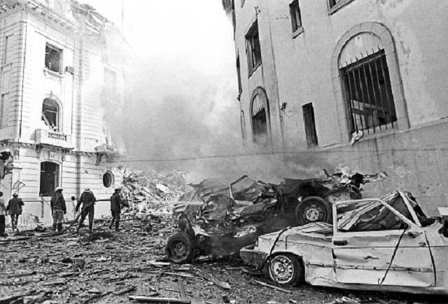 Reflexiones en el aniversario del atentado a la embajada de Israel en Argentina