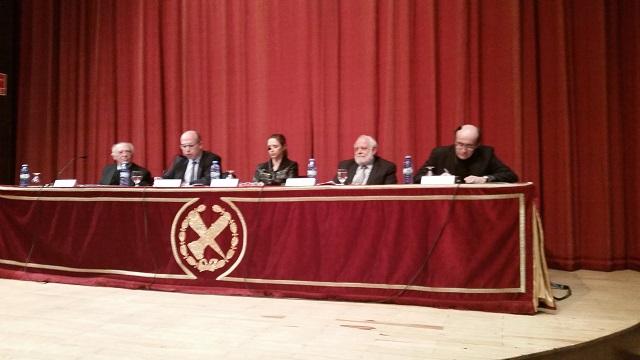 """Intervención del presidente de la FCJE, Isaac Querub, en la mesa redonda """"Del laicisimo al pluralismo religioso"""" en la Universidad Complutense"""