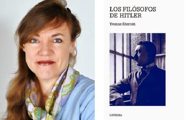 """Los filósofos de Hitler"" de Yvonne Sherratt, con su traductor Rodrigo Neira Castaño"