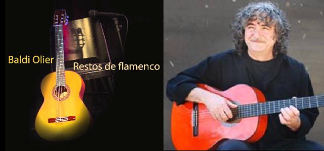 Baldi Olier homenajea a Paco de Lucía en Restos de Flamenco