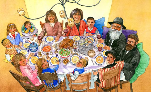 Seder Pésaj alpí hakabalá