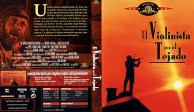 """""""El violinista en el tejado (Fiddler on the roof)"""" (1971), de Norman Jewison (EE.UU.)"""