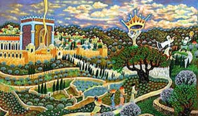 Shavuot a la diestra de Jerusalén