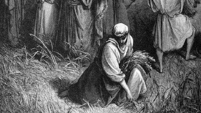 Ruth haMoaviyá; ba-Mikra, bedivré JaZaL ubasafrút haivrít hajadashá
