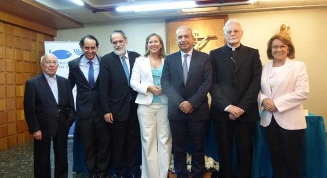 Clausura del curso 2014-5 del Centro de Estudios Judeo Cristianos (Pª San Juan Crisóstomo, Madrid, 27/5/2015)