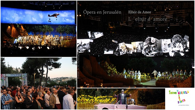 Ópera, un elixir para el amor &  Ramadán Kareem en Jerusalén