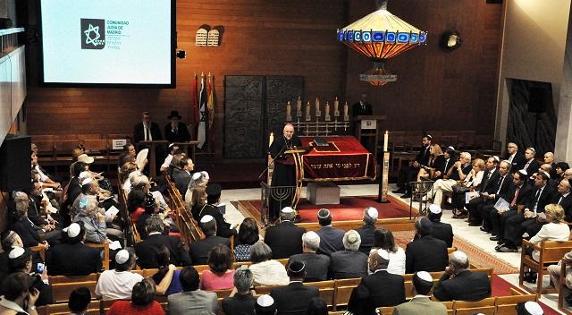 Acto de solidaridad con los cristianos en Oriente Medio y en África (CJM, Madrid, 23/5/2015)