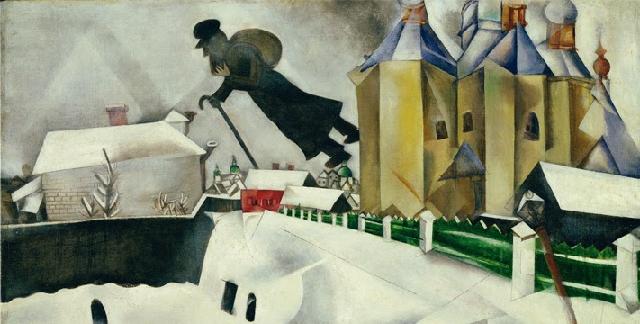 """""""Marc Chagall y la mística judía"""", por Leopoldo Azancot Z""""L (Fundación March, Madrid, 21/1/1999)"""