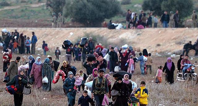 El problema de los refugiados sirios