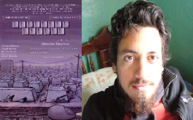 """""""Internet Junkie"""", con su productor, guionista y director Alexander Katzowicz"""