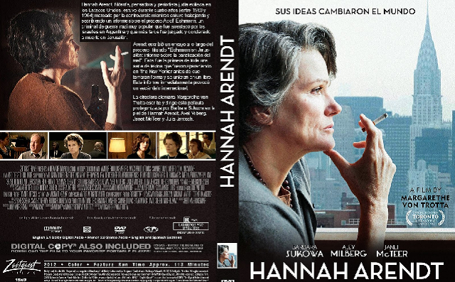 """Hannah Arendt"" (2012), de Margarethe von Trotta (Francia, Alemania, Luxemburgo, Israel)"