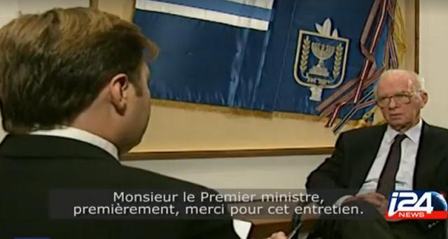 La última entrevista de Rabin (25 años después), con Henrique Cymerman