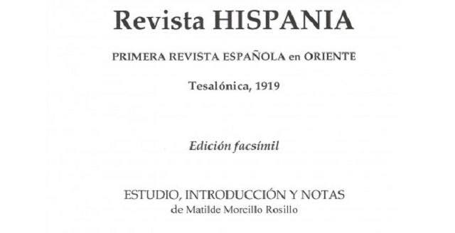 """""""Revista Hispania"""" en facsímil con su editor J. Vicente Zalaya"""
