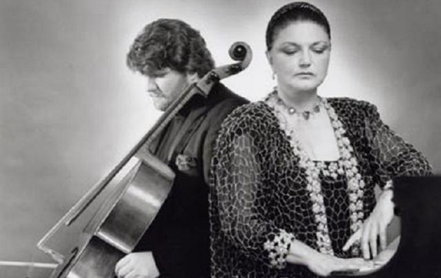 Oxana Yablonskaya: concierto en familia