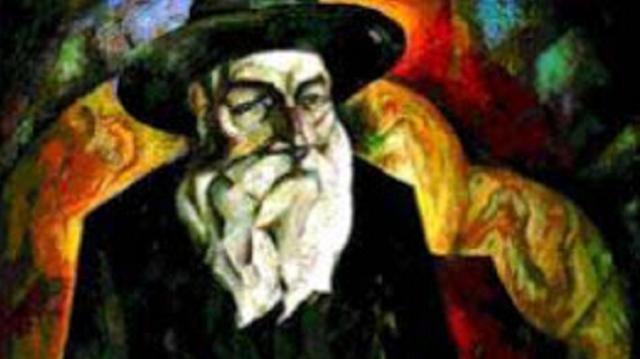 """""""Der zokn (El anciano)"""", de Isroel (Sergei) Nekrasov"""