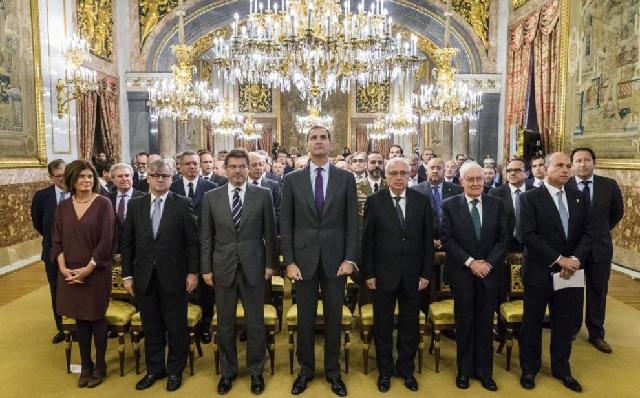 Acto solemne en el Palacio Real por la Ley de Nacionalidad para Sefardíes