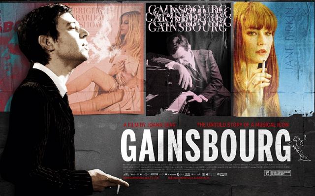 """""""Gainsbourg, Vida de un Héroe (Gainsbourg Vie Heroïque)"""" (2010), de Joann Sfar (Francia)"""
