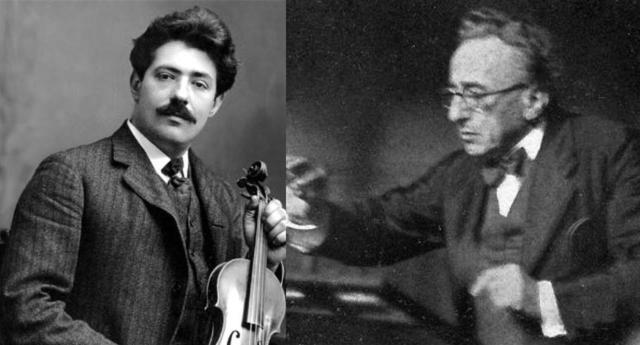 Fritz Kreisler y Leo Blech juntos por Beethoven