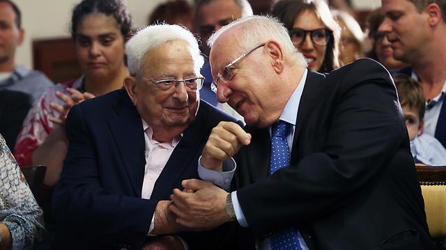 "Itzjak Navon z""l: hanasí hajamishí shel Israel, halaj le-olamó beguil 94"