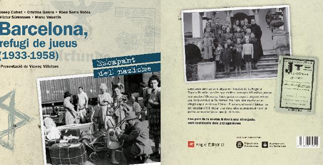 """""""Barcelona, refugi de jueus"""", con dos de sus autores: Josep Calvet y Rosa Serra"""