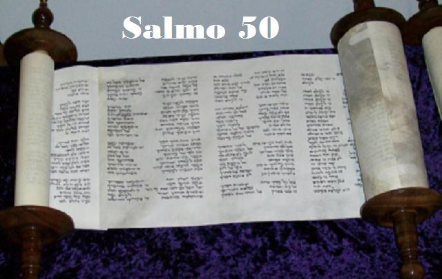 Salmo 50: los tres nombres de Dios