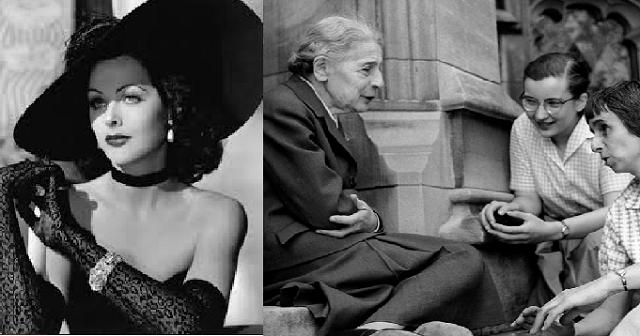 Hedy Lamarr y Lise Meitner: dos notables mujeres judías y poco conocidas