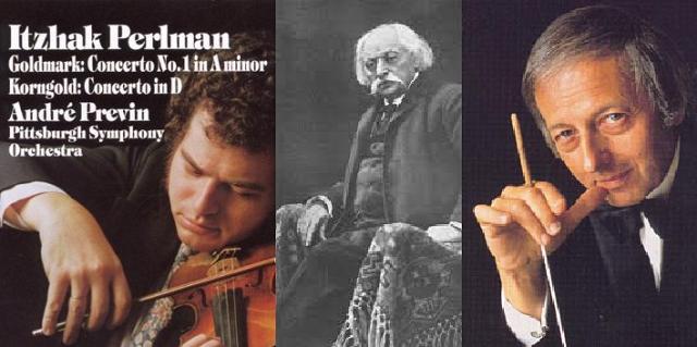 El concierto de violín de Goldmark, por Itzhak Perlman, Premio Génesis 2016
