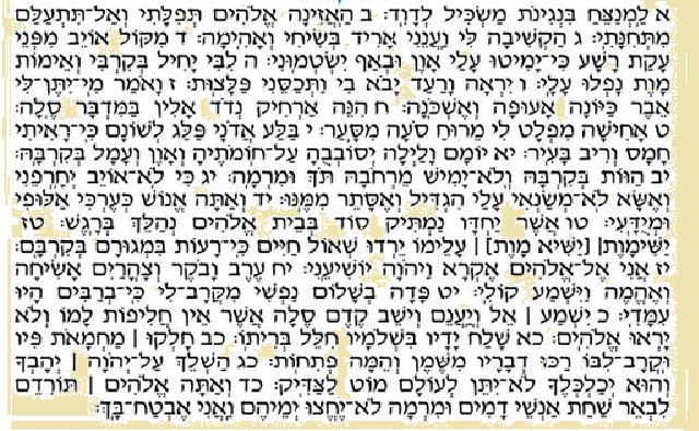 Salmo 55: la oración de una persona traicionada