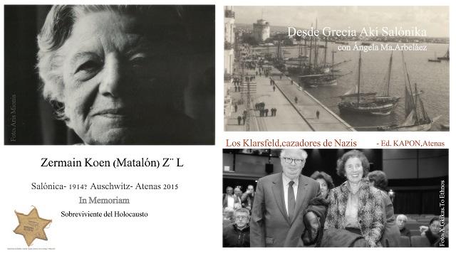 """Zermain Koen Z""""L Adio & Memorias de los Klarsfeld"""