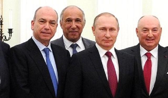 La FCJE se reunió con Putin en el Kremlin, con su presidente Isaac Querub