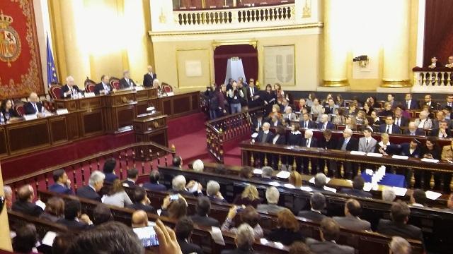 Acto de Estado en el Día oficial de la Memoria del Holocausto y Prevención de los Crímenes contra la Humanidad (Senado, Madrid, 27/1/2016)