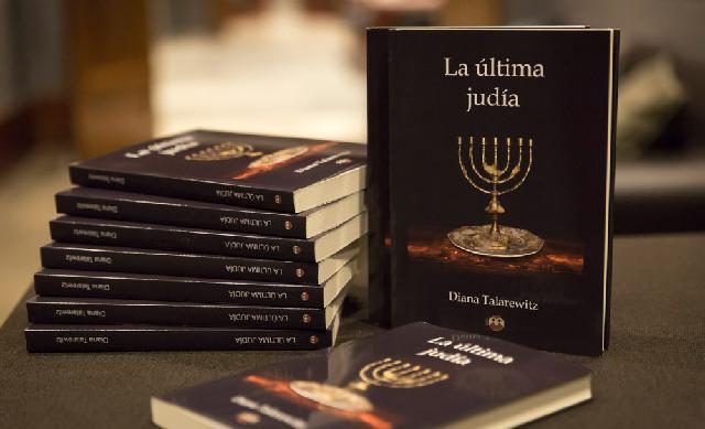 """""""La última judía"""", con  su autora Diana Talarewitz"""