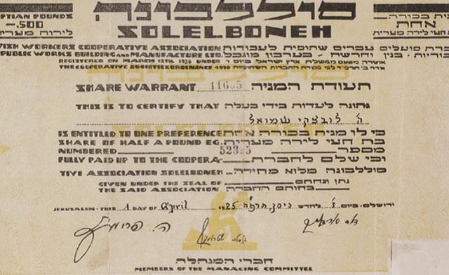 Taáruja be-Muzeón le-Omanút Israelit be-Ramat Gan shel osef mismajím finánsiyim mitkufát kum ha-mediná