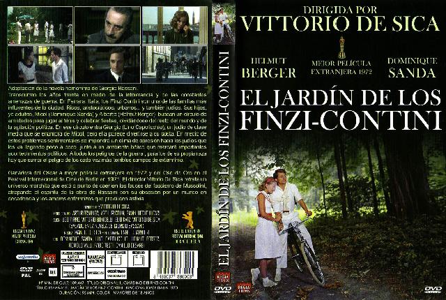 """""""El jardín de los Finzi Contini"""" (1970), de Vittorio De Sica, (Italia – Alemania)"""